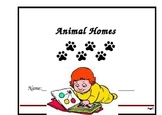 Animal Homes Concept Book