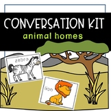 Conversation Kit: Animal Habitats {ESL} (Kindergarten Wonders Unit 7 Week 3)
