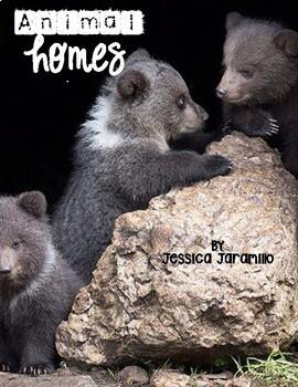 Animal Homes (Home Sweet Home) Journeys 2017