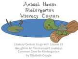 Animal Homes: Kindergarten Literacy Centers