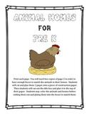 Animal Homes Match