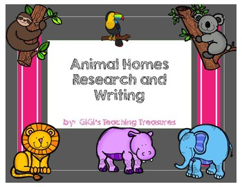 Animal Homes Research Pack