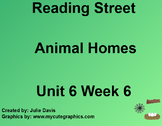 Animal Homes SmartBoard Companion Kindergarten