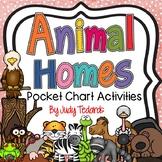 Animal Homes (Song and Pocket Chart Activities)