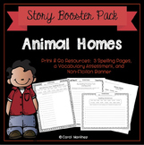 Animal Homes {Story Booster Pack}