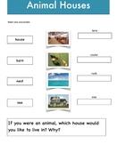 Science - Animal Houses