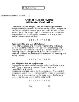 Animal Hybrid Drawing Project