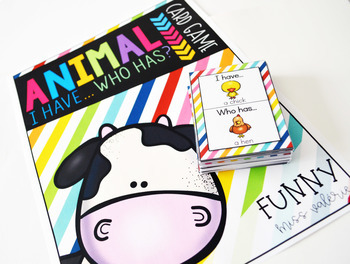 Animal ''I have... Who has?'' Game