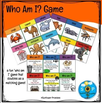 Animal Identification Cards