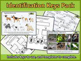 Animal Identification Keys Pack (Australian Animals, Breed