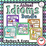 IDIOMS UNIT BUNDLE: Idioms Activities, Literacy Centers, T