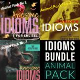Animal Idioms Bundle. ESL Beginners and Intermediate. Fun