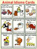 Animal Idioms Cards