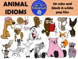 Animal Idioms Clip Art - The Schmillustrator's Clip Art Emporium