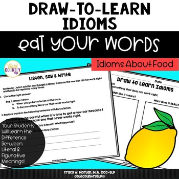 Eat Your Words - Draw to Learn Idioms
