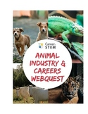 Animal Industry and Careers With Animals Webquest (distance learning)