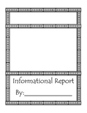 Animal Informational Report Blank Template