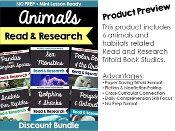 Informational Book Studies: Animals Magic Tree House Nonfiction Fact Trackers