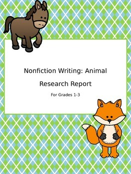 Animal Informational Text Writing Unit