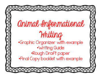 Animal Informational Writing
