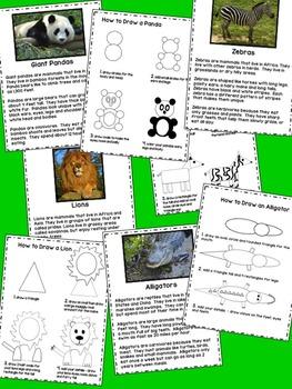 Animal Informational Writing Unit & Book