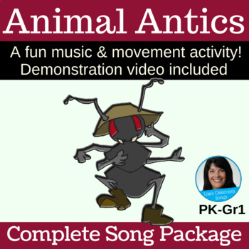 """Animal/Insect/Letter A Song 