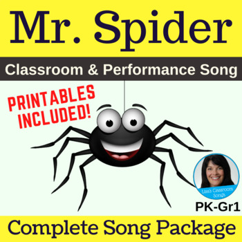 "Animal/Insect Song | ""Mr. Spider"" by Lisa Gillam 