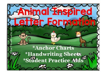 Animal Inspired Letter Formation