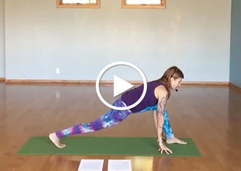 Animal-Inspired Yoga Poses - Wildebeest