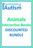 Animals Biology Science Books BUNDLE Autism Reading Comprehension