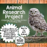 Animal Research Bundle: From Anchor Charts to Assessments!