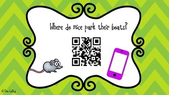Animal Jokes with QR Code Answers