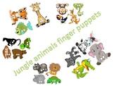 Animal Jungle Finger Puppets
