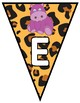 Animal/Jungle Themed Welcome Banner- Pennant style- FREE!