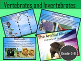 Animal Kingdom Activity (Vertebrates and Invertebrates) Power Point