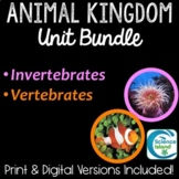 Animal Kingdom Unit Bundle: PowerPoints, Notes, and Task Cards