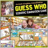Animal Kingdom Classification: Guess Who Board Game