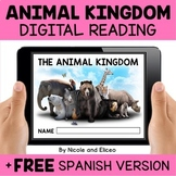 Animal Kingdom Reading Comprehension for Google Classroom