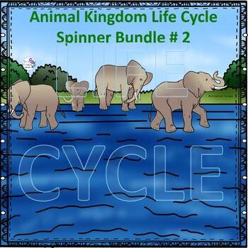Animal Kingdom Life Cycle Spinner Bundle 2