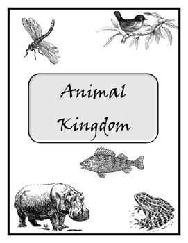 Animal Kingdom Packet