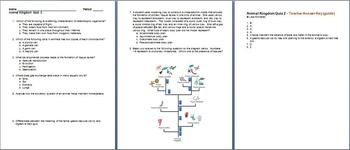 Animal Kingdom Unit Bundle - 9 Files