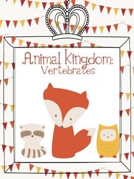 Animal Kingdoms Poster Project for Vertebrates