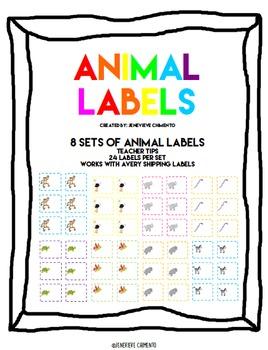 Animal Labels