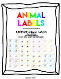 Animal Labels