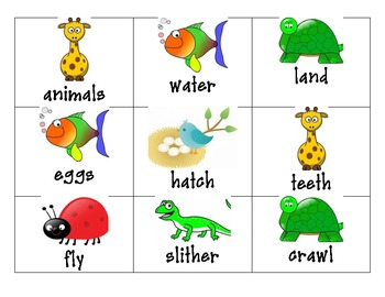 Animal Language Arts Centers