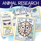 Animal Research Lapbook