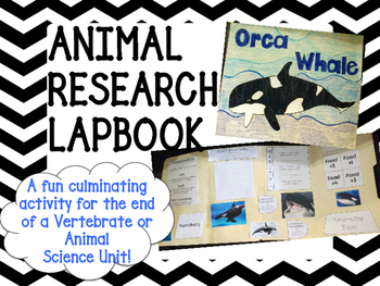 Animal Lapbook Research Project