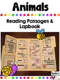 Animal Lapbook and Reading Passages Bundle