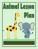 Animal Lesson Plan