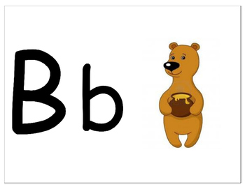 Animal Letter and Sound Flashcards